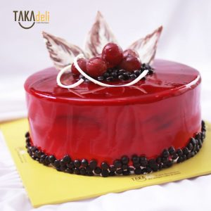 simple elegant cake enak