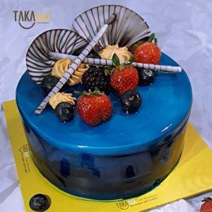 simple elegant cake takadeli