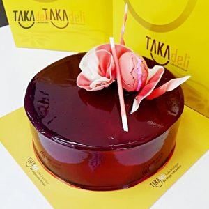 simple elegant cake murah