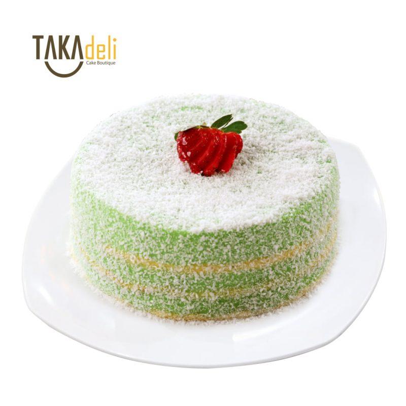 pandan kaya takadeli cake