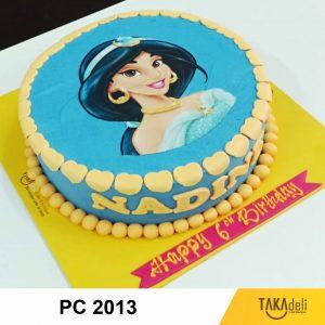photo cake princess takadeli