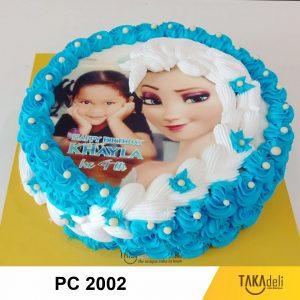 foto cake ulang tahun frozen takadeli