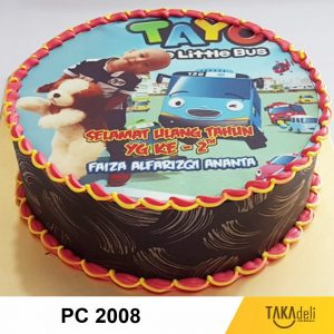 photo cake tart murah takadeli